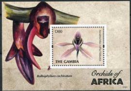 Gambia, michel blok 826, xx