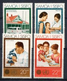 Samoa, michel 285/88, xx