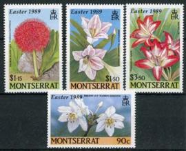 Montserrat, michel 741/44, xx