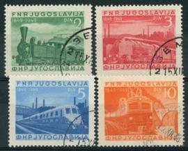 Joegoslavie, michel 583/86, o