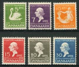 Denemarken, michel 222/27, xx