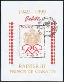 Monaco, michel blok 76, o