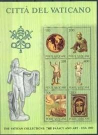 Vaticaan, michel blok 7, xx