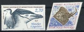 Antarctica Fr., michel 388/89, xx