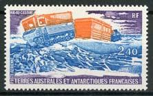 Antarctica Fr., michel 154, xx