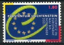 Liechtenstein, michel 1256, xx