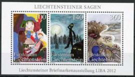 Liechtenstein, michel blok 23, xx