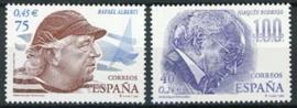 Spanje, michel 3616/17, xx