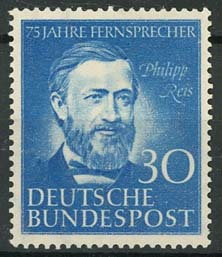 Bundespost, michel 161, xx