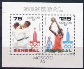 Senegal, michel blok 39, xx