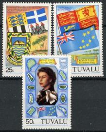Tuvalu, michel 170/72, xx