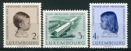 Luxemburg, michel 569/71, xx