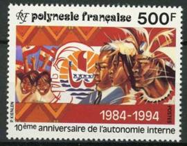 Polynesie, michel 657,xx