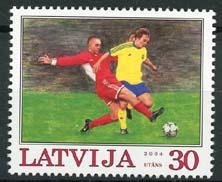 Letland, michel 614, xx