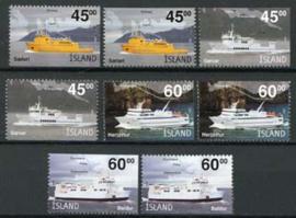 IJsland, michel 1034/37 DL/DR, xx