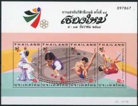 Thailand, michel blok 70, xx