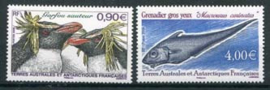 Antarctica fr., michel 654/55, xx