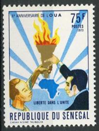 Senegal, michel 524, xx
