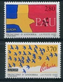 Andorra Fr., michel 477/78, xx