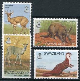 Swaziland, michel 672/75, xx