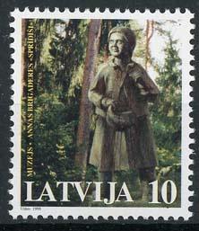 Letland, michel 475, xx