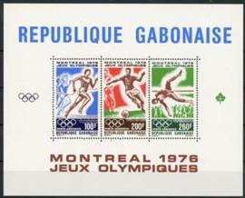 Gabon, michel blok 30, xx