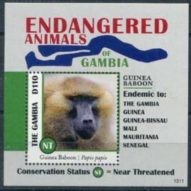 Gambia, bedreigde dieren, xx