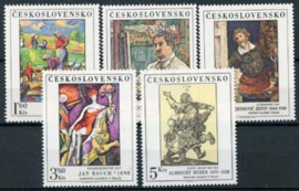 Tsjechoslowakije, michel 2534/38, xx