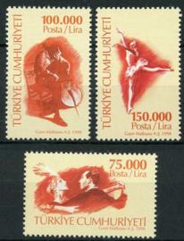 Turkije, michel 3152/54, xx