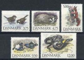 Denemarken, michel 1086/90, xx