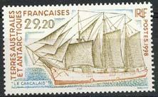 Antarctica Fr., michel 385, xx