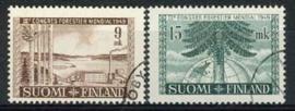 Finland, michel 368/69, o