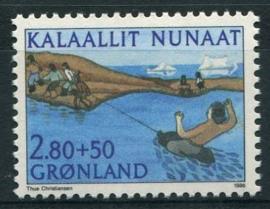 Groenland, michel 164, xx