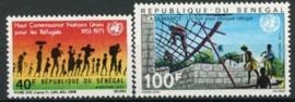 Senegal, michel 446/47, xx