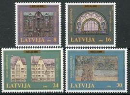 Letland, michel 440/43, xx