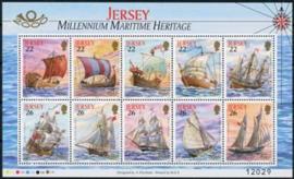 Jersey, michel kb 928/37, xx