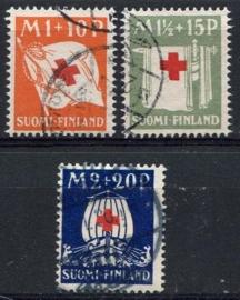 Finland, michel 158/60, o