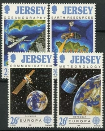 Jersey, michel 539/42, xx