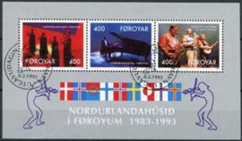 Faroer, michel blok 6, o