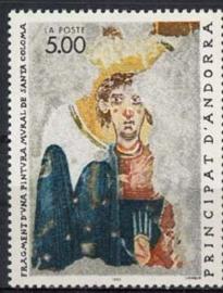 Andorra Fr., michel 417, xx