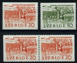 Zweden, michel 511/12,xx