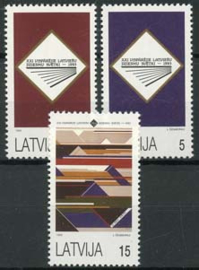 Letland, michel 357/59, xx