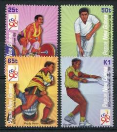 Papua N.Guinea, michel 832/35, xx