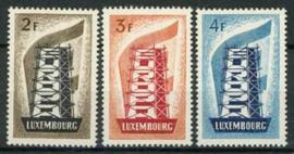 Luxemburg, michel 555/57 , xx + cert.