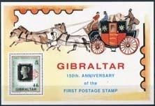 Gibraltar, michel blok 15, xx