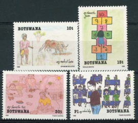 Botswana, michel 459/62, xx