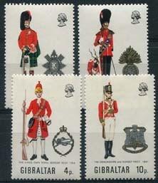 Gibraltar, michel 279/82, xx