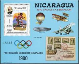 Nicaragua, michel blok 111, xx