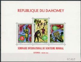 Dahomey, michel blok 18, xx