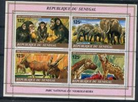 Senegal, michel blok 37, xx